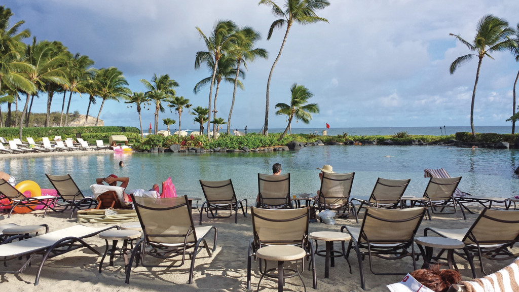 The Grand Hyatt Kauai Saltwater Lagoon