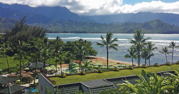 View from The St. Regis Princeville