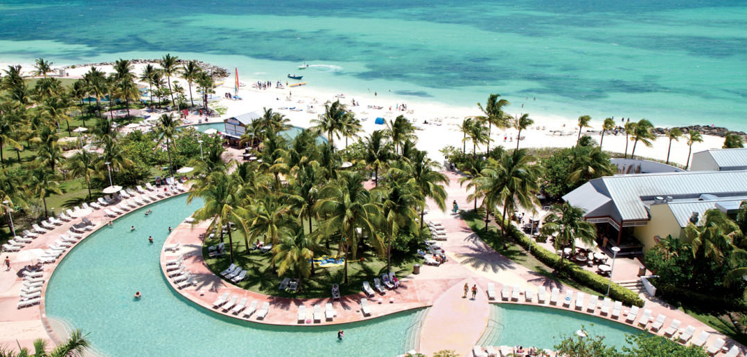 Aerial View of the Grand Lucayan