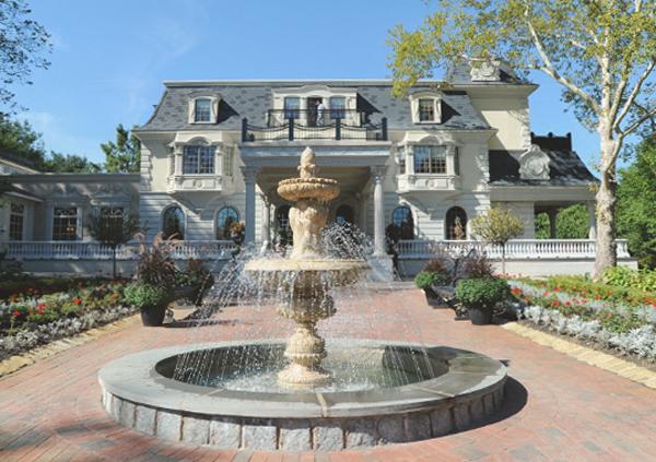 The Ashford Estate, Entrance Fountain