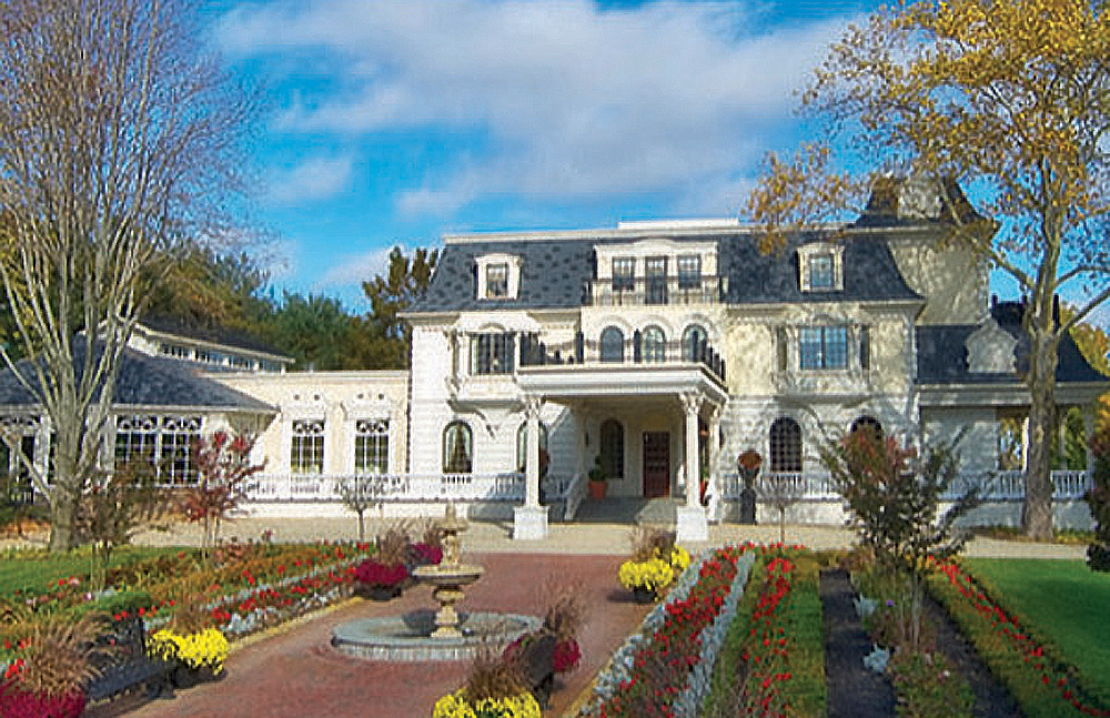 The Ashford Estate, Entrance