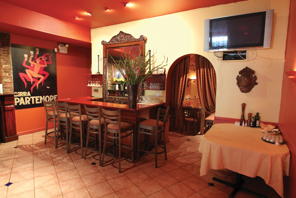 Bricco Ristorante, Private Area