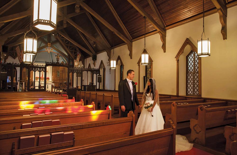 Wedding Ceremony In Historic Christ Church