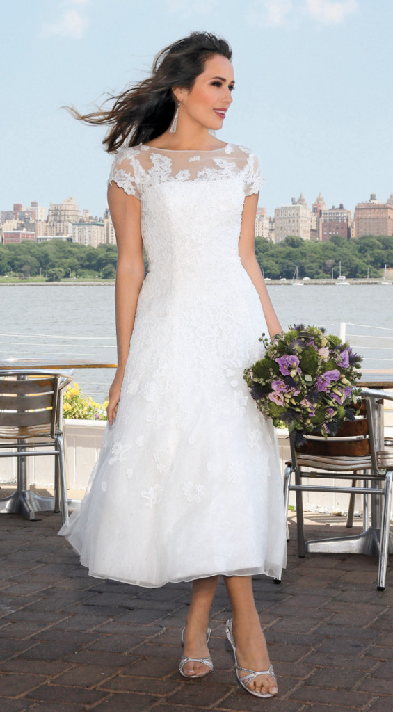 David's Bridal, featuring Oleg Cassini (style-CMK513)