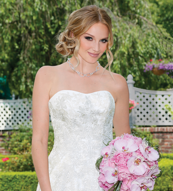 David's Bridal, featuring Oleg Cassini (style-CWG592)
