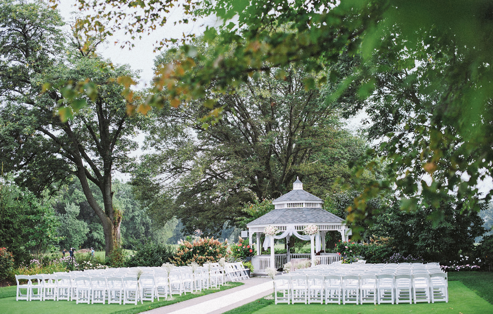 Dyker Beach Golf Course, Ceremony in the Gazebo