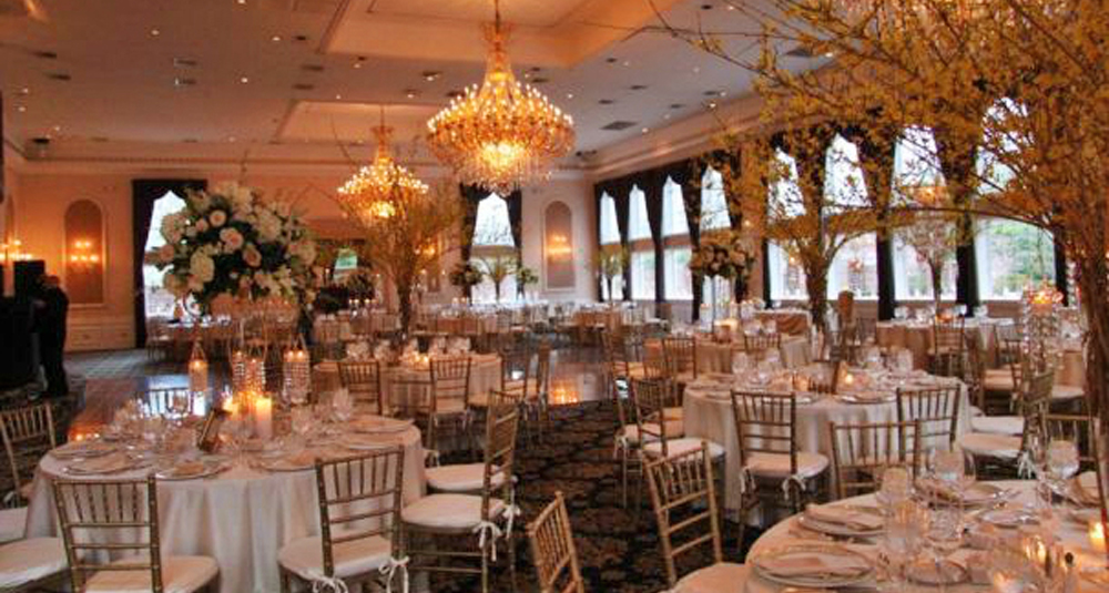 The Estate at Florentine Gardens, ballroom in gold