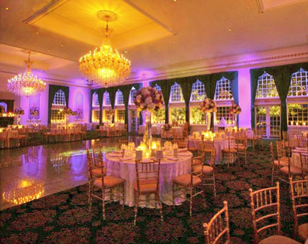 The Estate at Florentine Gardens, ballroom at twilight