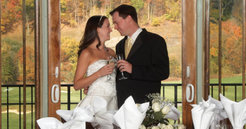 Hollow Brook Golf Club, wedding day