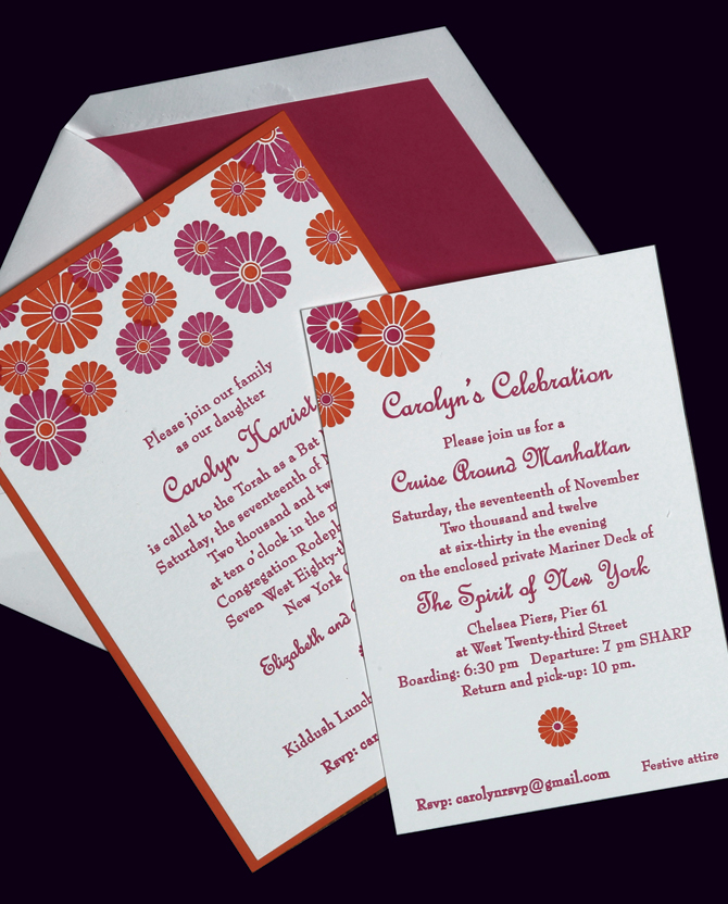 Invite write wedding invitations in new york city for Wedding invitations writing names