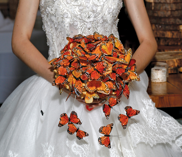 Mitch Kolby Events, Butterfly-Inspired Bouquet by KC Events