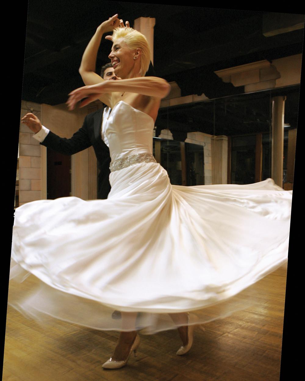 Dance Instructor Karen McDonald, on the Dancefloor