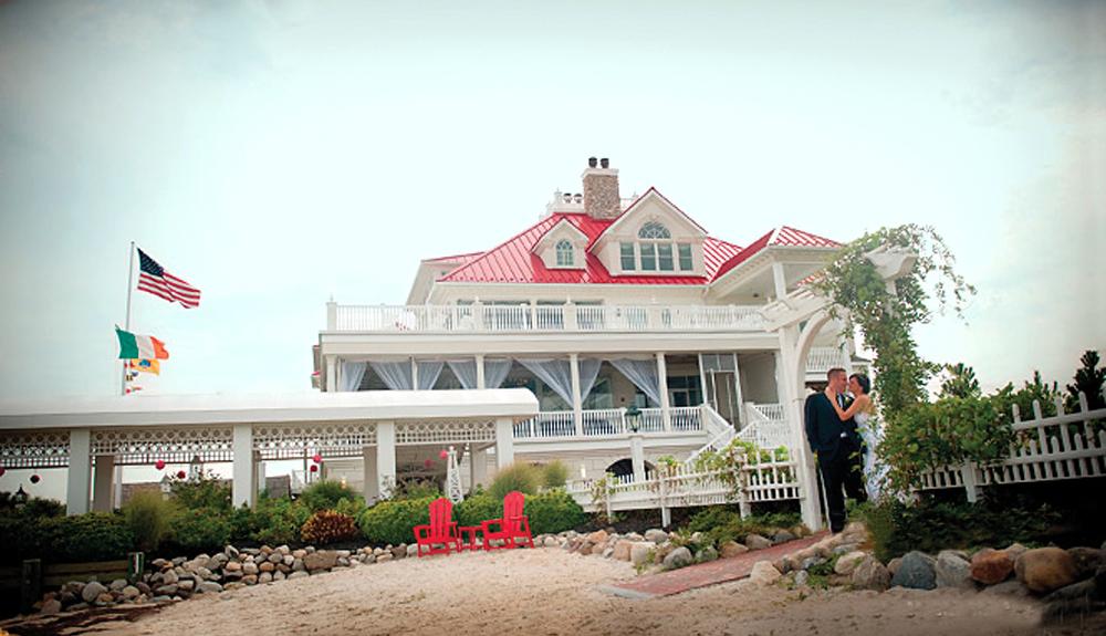 Mallard Island Yacht Club, On the Beach