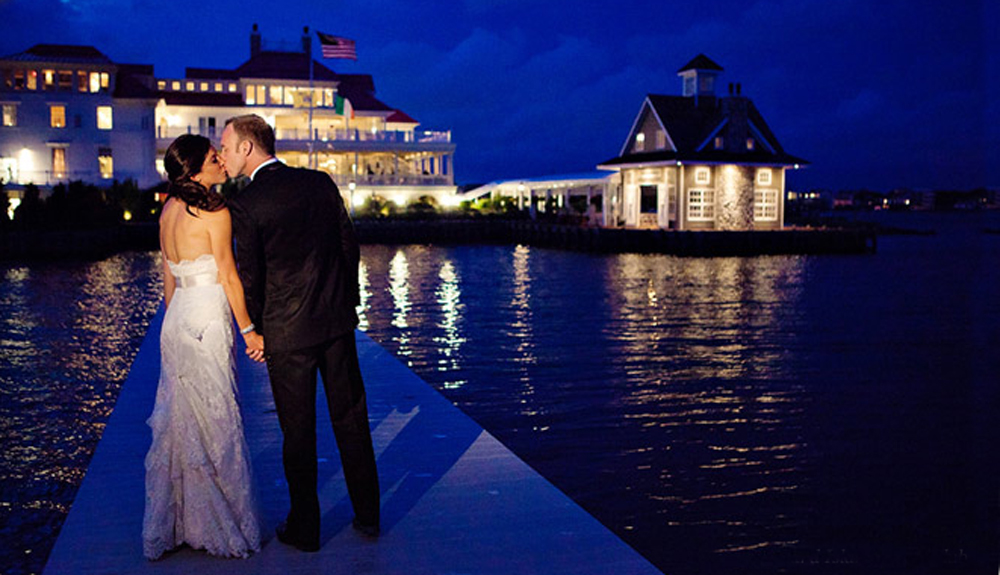 Mallard Island Yacht Club, Wedding Day