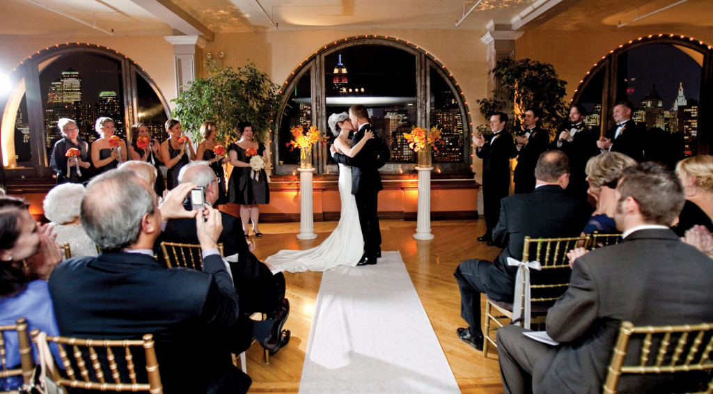 Manhattan Penthouse, Wedding Ceremony