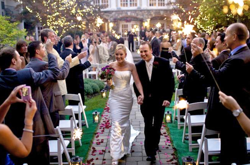 The Olde Mill Inn, Just Married (Brad Ross Photography)