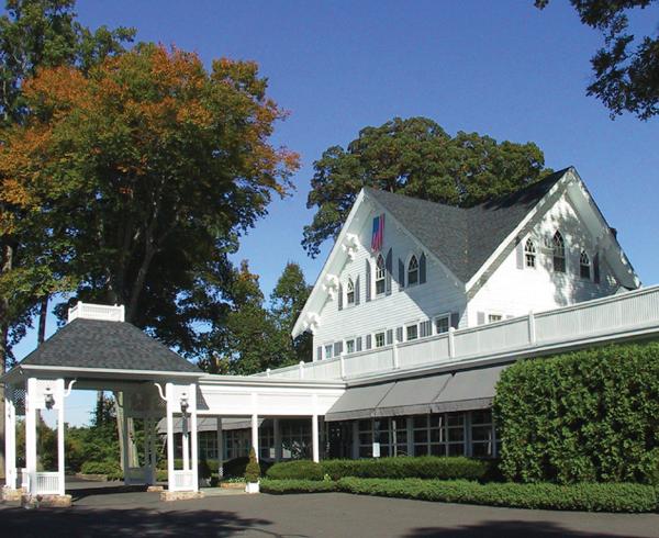 The Ryland Inn, Entrance