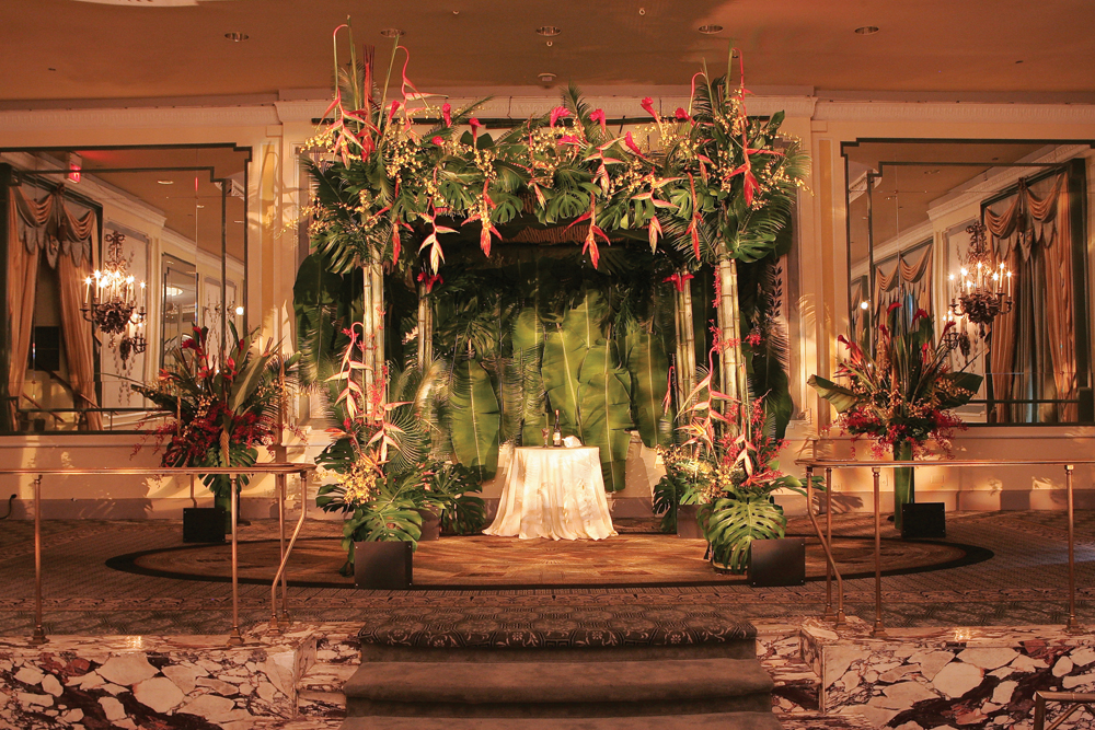 Ariston Flowers, A Hawaiian Theme at The Pierre (Hechler Photographers)