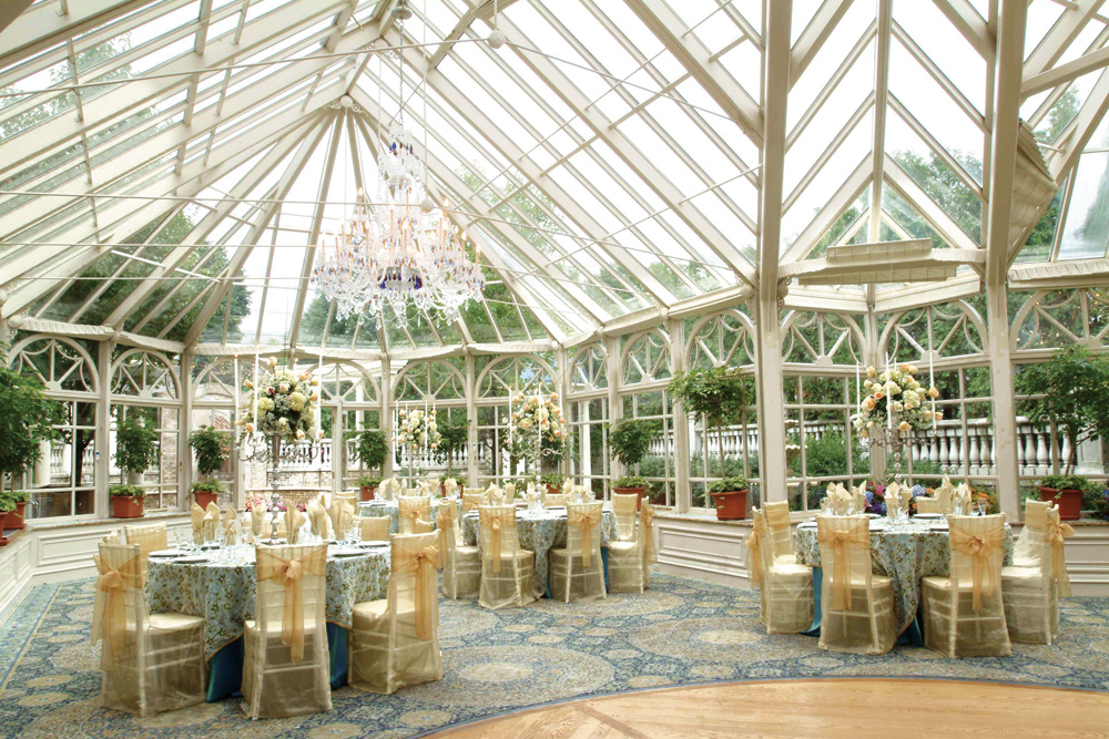 The Brownstone Atrium Reception : tented wedding venues nj - memphite.com