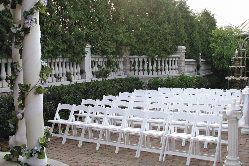 The Brownstone, Outdoor Ceremony