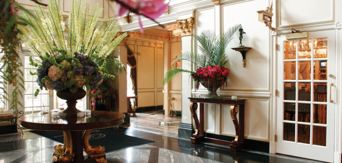 The Brownstone, Elegant Lobby (John Agnello Photography)
