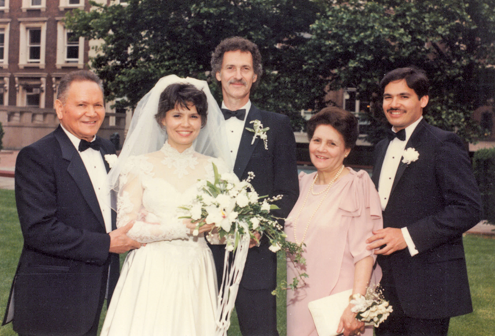 Faculty House at Columbia University, Wedding Day, Over a Quarter-Century Ago