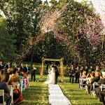Hilton Pearl River, Outdoor Ceremony, with Confetti!