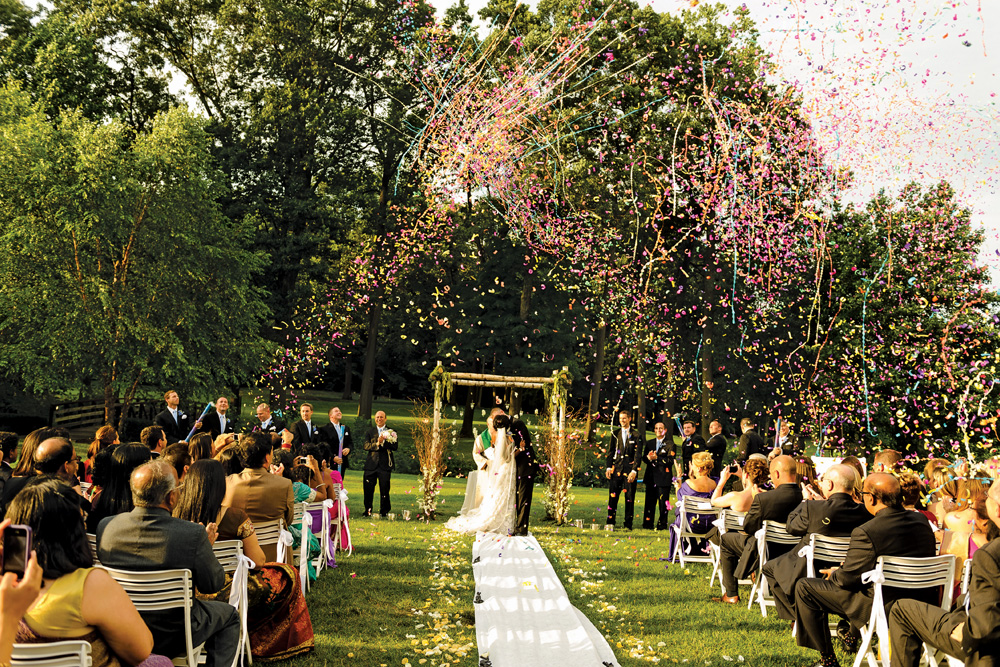 Hilton pearl river ny nj hotel garden wedding venue for Outdoor wedding venues ny