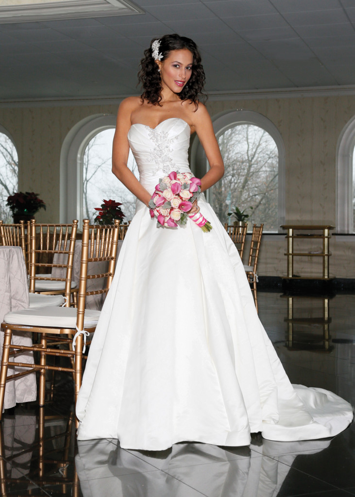 Oleg Cassini Bridal Gowns on Location in NY and NJ