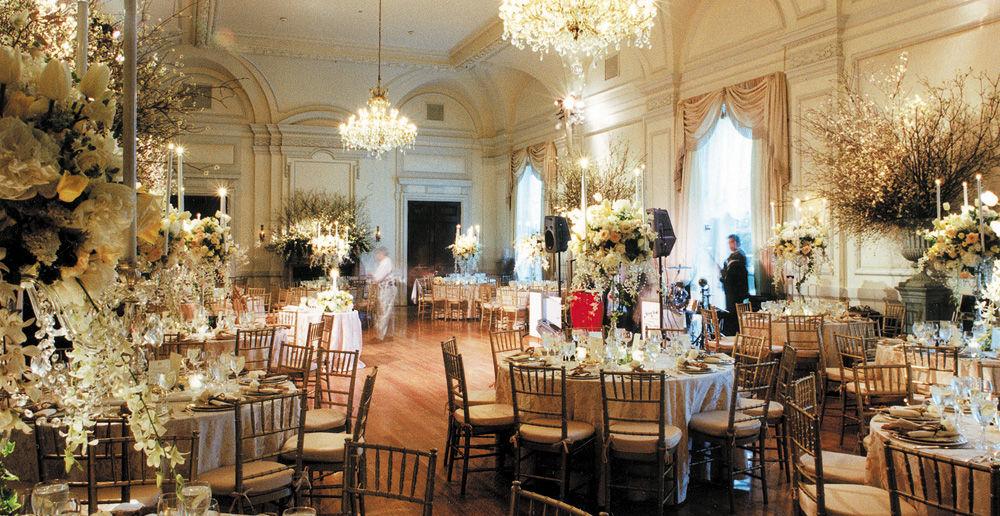 Oheka Castle, Ballroom Decor