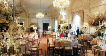 Oheka Castle, Ballroom Decor