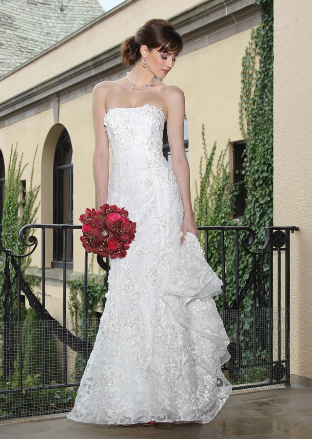 Oleg Cassini Gown (CWG464) at Oheka Castle