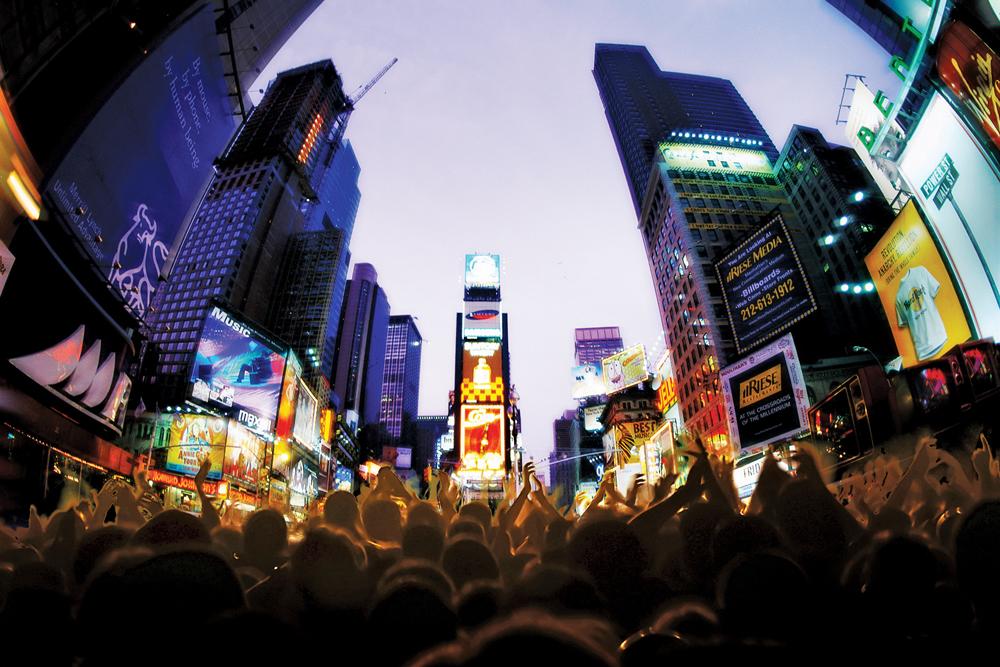 Times Square Orchestra, Times Square