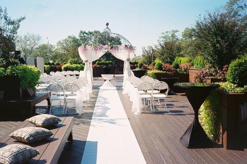 The Vanderbilt at South Beach, Garden Ceremony