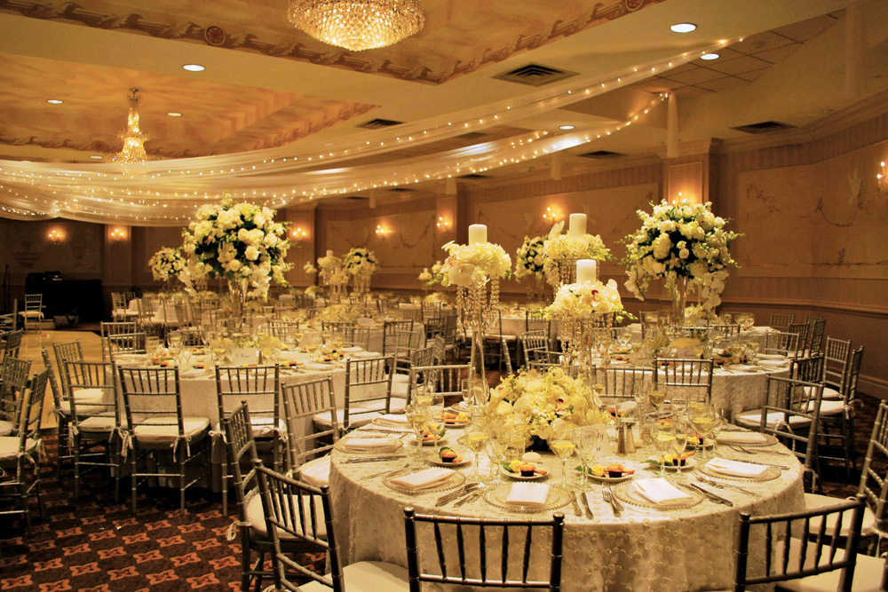 The wilshire grand hotel new jersey garden wedding venue for Hotel wedding decor