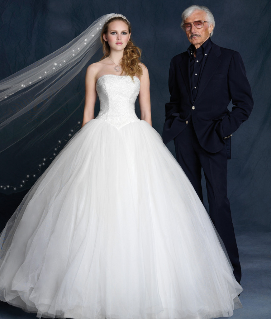Oleg Cassini gown