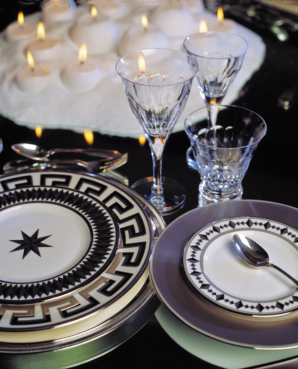 Colin Cowie, an elegant placesetting