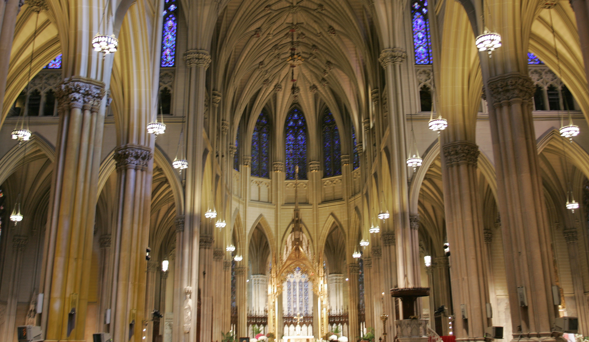 St Patrick's Church, grand interior