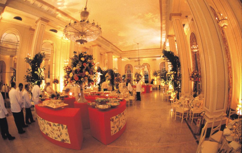 Wedding reception