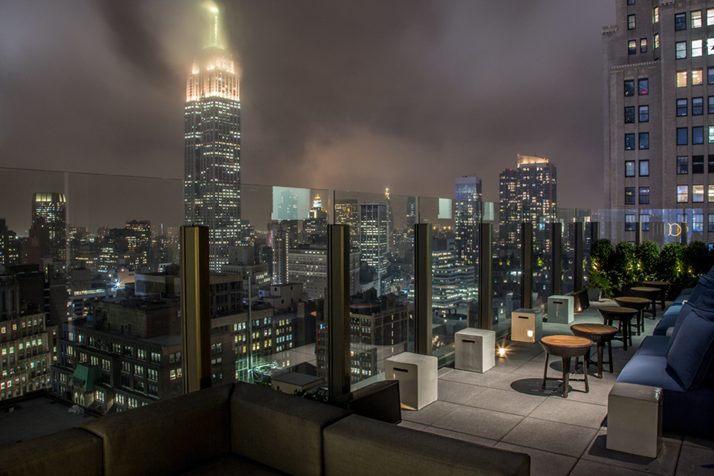 The Skylark, Outdoor Terrace Skyline View