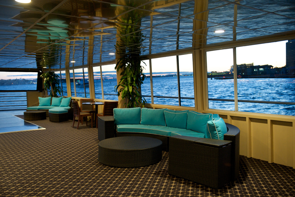 Smooth Sailing Celebrations, Aqua Azul Lounge Deck and Dance Floor