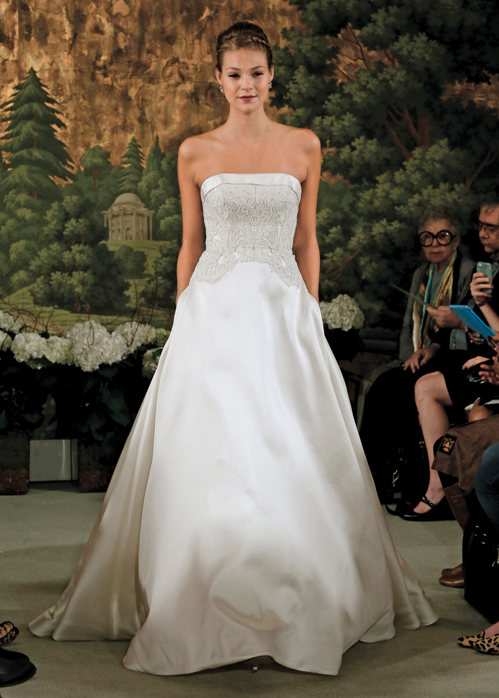 Anne barge spring 2015 collection for Wedding dress preservation nyc