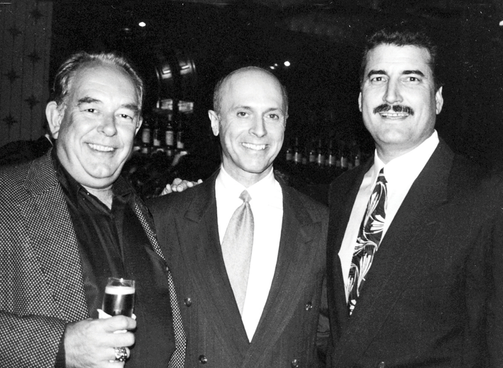 At his charity events over the years ... Rick Bard with Robin Leach and Mets star Keith Hernandez