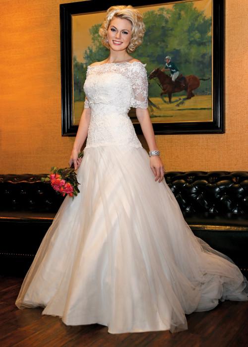 Designer loft salon wedding gowns on location for Local wedding dress designers