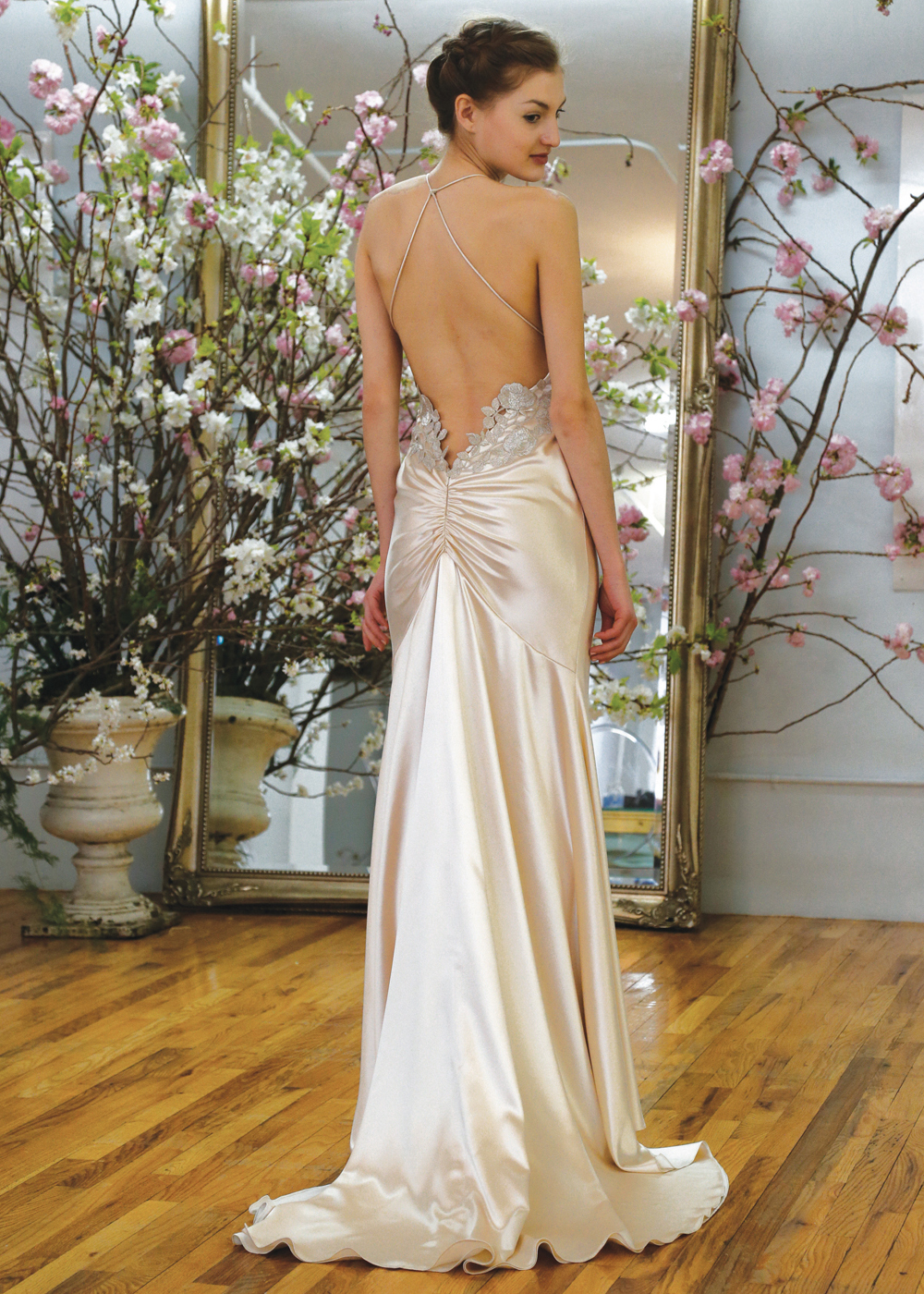 Elizabeth Fillmore Alluring Fit To Flare Wedding Gown