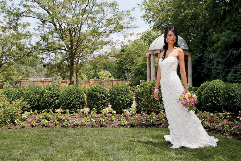 Robert Bullock Bride at Steven Birnbaum Bridal