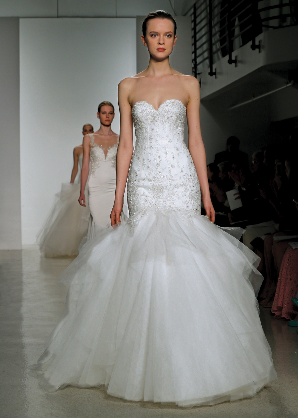Kenneth pool spring 2015 bridal runway collection for Wedding dress preservation nyc