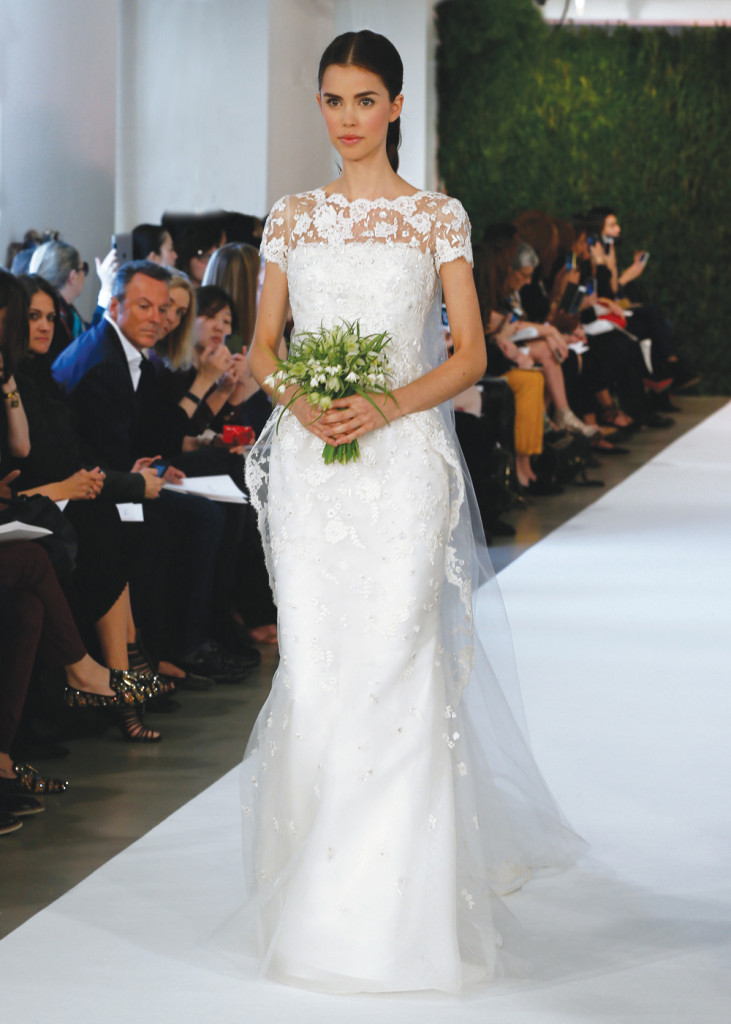 oscar de la renta vintage mermaidwedding gown ForWedding Dress Rental Manhattan