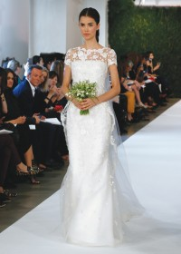 Bridal wedding gowns new york new jersey high neckline for Wedding dress rental manhattan
