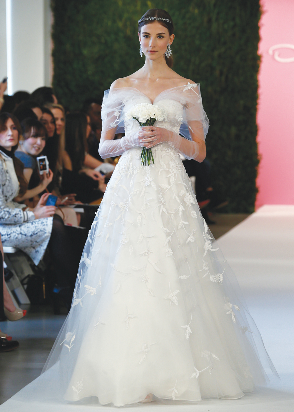Oscar de la Renta Vintage A-Line Wedding Dress